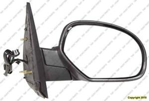 Door Mirror Power Passenger Side Heated Without Offroad Without Courtesy Without Signal Chevrolet Suburban 2007-2014