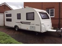 2013 Adria Altea Severn 6 birth caravan, awning & accessories