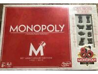 Monopoly board (80th Anniversary)