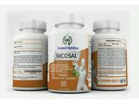 Nicosal High Strength Antioxidant Immune Booster For Smokers With Vitamin C and Turmeric Powder