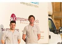 Brighton Man and Van. Cheap winter rates. Removals Brighton - 100% service guaranteed.