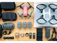 Dji Spark fly more 3 batteries + extras