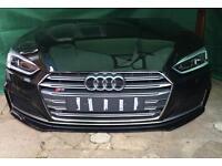 Audi A5 S5 S Line front end