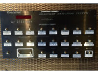 Custom Audio Electronics Rocktron/Bradshaw RSB-18 R+F Switching System