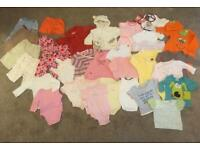 Baby girl 3-6 months clothes bundle £10