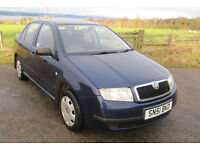 Skoda Fabia 1.4 16V 79,000 miles with FSH (10 stamps) Long MOT only £1175