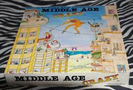 Vintage 1985 Middle Age Crazy Board Game