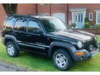 Jeep Cherokee 2.5 turbo diesel CRD sport with mot