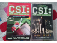 CSI: Snake Eyes & CSI: Double Dealer