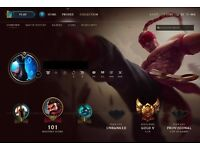 League of Legends EUNE Account | Gold V | 94 champions | 39 skins