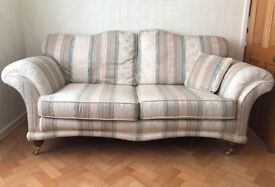 THREE PIECE SUITE INCLUDING FOOTSTOOL