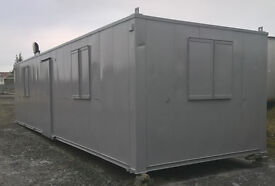 PORTABLE CABIN 32ft-OFFICE/TOILET/KITCHEN/OFFICE-SHIPPING CONTAINER-WELFARE UNIT