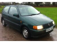 1998 VW Polo 1.0, MOT 29th November 2018