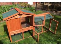 (sold) rabbit/guinea pig hutch