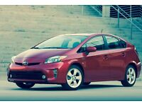 TOYOTA PRIUS/ PCO/UBER READY / MINI CAB TAXI RENTAL/ CHEAP HIRE