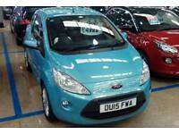 FORD KA HATCHBACK 1.2 Zetec [Start Stop] (blue) 2015