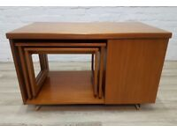 Mcintosh Tristor Nest Of Tables (DELIVERY AVAILABLE FOR THIS ITEM OF FURNITURE)