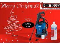 Draper 28018 & 52597 Patio Cleaner 1700W 230V 80bar (1160psi) Pressure Washer Wash