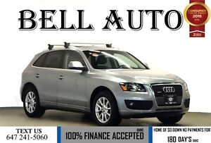 2011 Audi Q5 2.0T PREMIUM PKG PUSH START SUNROOF LEATHER