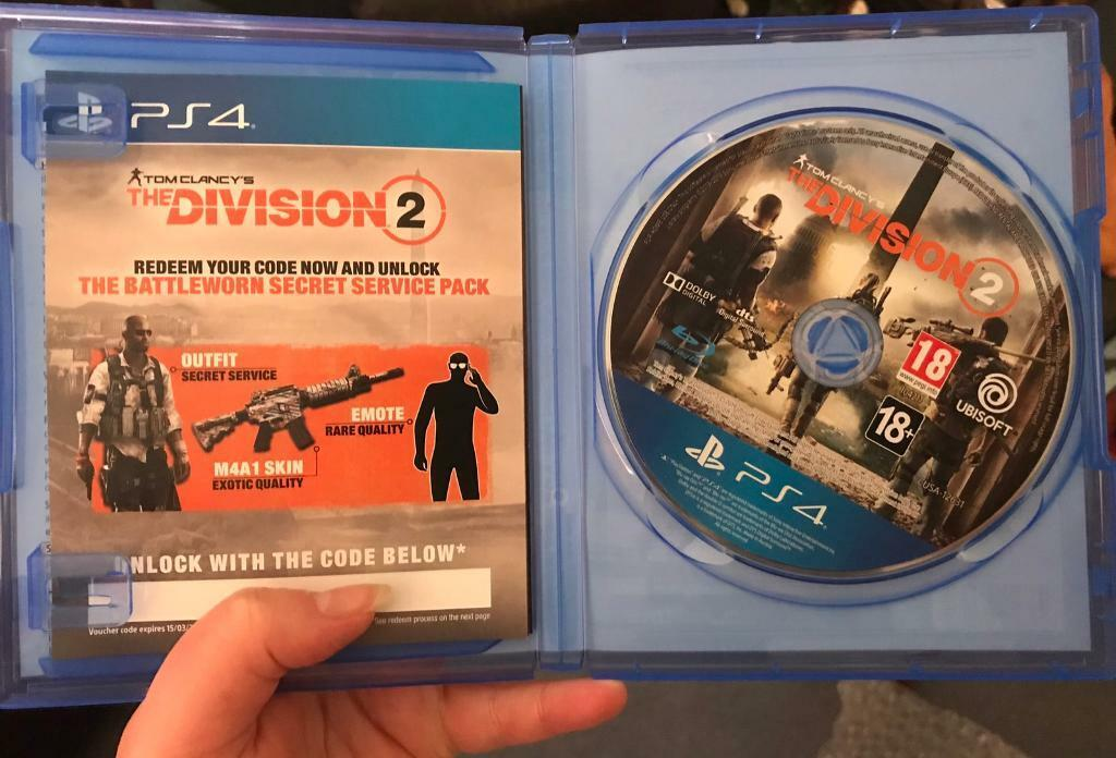 PS4 The division 2 game | in Torquay, Devon | Gumtree