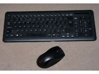 Packard Bell wireless keyboard & mouse.