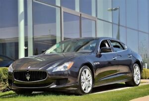 2014 Maserati Quattroporte SQ4* Certified Pre-Owned Vehicles 2.9