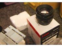 Canon 50mm f1.4 Prime Lens new in box