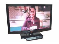 "TECHWOOD 24"" LED TV / BUILT IN DVD PLAYER"