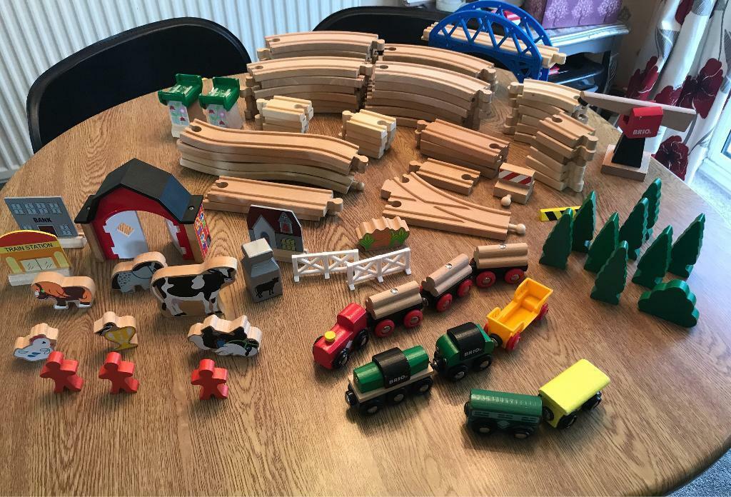 Fantastic Brio Wooden Train Set In Kingsteignton Devon Gumtree