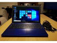 "Blue Asus X550C - Intel Dual-Core, 8GB RAM, 500GB, HD Graphics, 15.6"" Laptop"