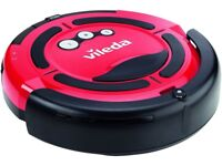 Vileda M-488A Cleaning Robot Intelligent & Simple To Use- Red