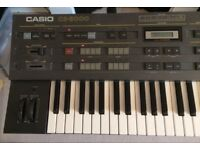 Casio CZ-5000 synthesizer - Excellent condition!