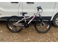 "Girls mountain bike 12"" frame 24"" wheels £60"