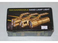 REALTREE 3 x 3 WATT CREE LED HAND TORCH T6 SUPER BRIGHT FLASHLIGHT LAMP LIGHT.**