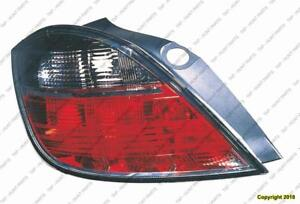 Tail Lamp Driver Side 4Dr High Quality Saturn Astra 2008-2009