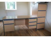 Office Desk matching filing Cabinet