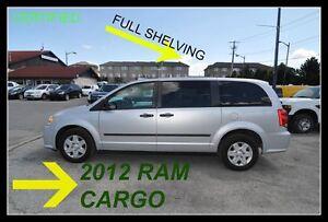 2012 Ram Cargo Van Shelving, 2012 with 143K