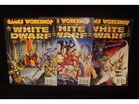 White Dwarf Magazines – Games Workshop