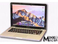 """ 2.4Ghz Core i5 13"""" Apple MacBook Pro 4gb 320GB HD PLEX Sky TV Films Movies Sport Football Boxing """