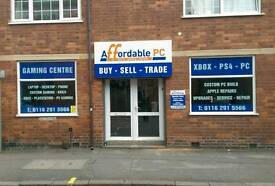 Leicester's #1 computer shop.