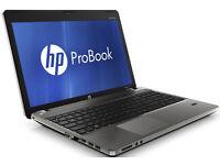 "HP ProBook 4530s Intel i5 CPU 15.6"" Windows 7"
