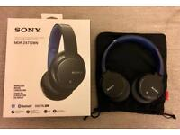 Sony MDR-ZX770BN Wireless On-Ear Headphones - Blue