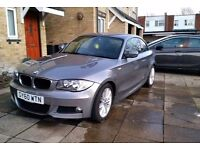 2010 (60) BMW 123d, 1 SERIES COUPE, SATNAV, LEATHER SEATS, M SPORT - PRICED TO SELL