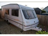 STERLING 4 BERTH CARAVAN WITH AWNING AND MUCH MORE