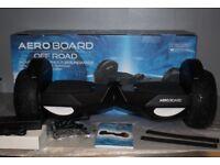 Off Road segway Aero Board Self Balance board XL 8mph L.E.D. smart Hover All Terrain