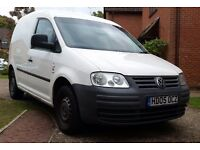 VW Caddy SDi White Van 2005 with reconditioned gear box and engine