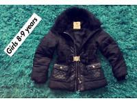 Beautiful girls jacket cost 8-9 years