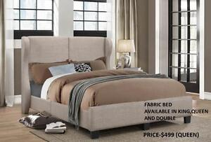 FABRIC BEDS ON SALE!!! REDUCED PRICES : GRAND SALE- 50% OFF (IF37)