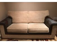 Three and two seater fabric Sofa