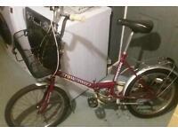 Stowaway3 folding bike